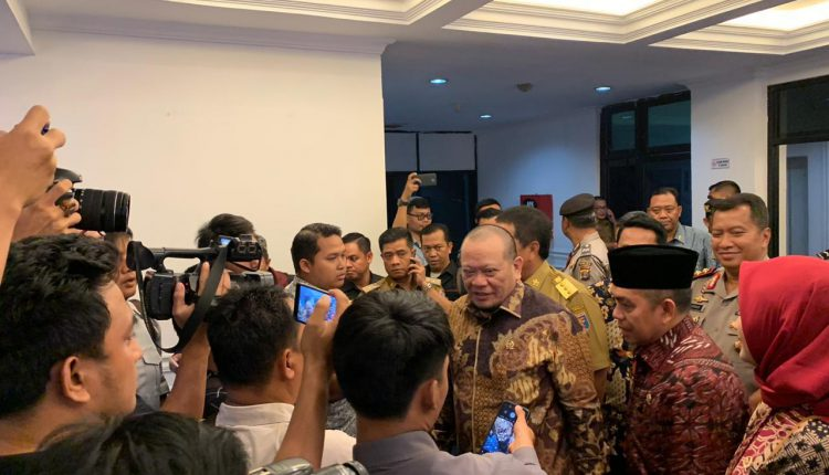 Gubernur Lampung Adukan Dua Persoalan Serius Ke Ketua DPD ...